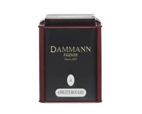 Чай черный Dammann Fruit Rouges, 100 г