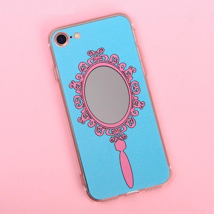 Чехол для телефона iPhone 7 с зеркальным эффектом «Излучай красоту» фото