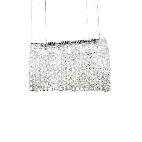 Подвесной светильник Giogali SP RE1 by Vistosi (прозрачный)