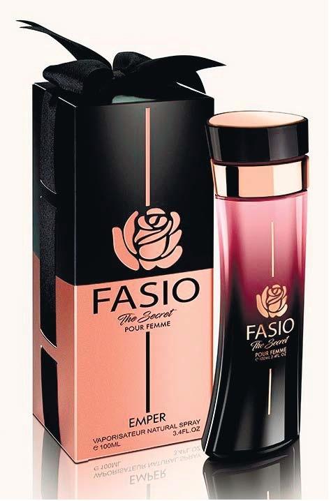 Пробник для Fasio Secret Фасио Сикрет парфюмерная вода жен. 1 мл от Эмпер Emper