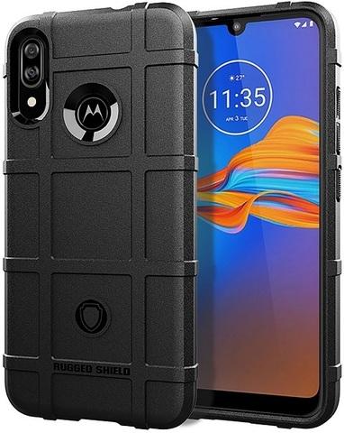 Чехол Motorola Moto E6S (E6 Plus) цвет Black (черный), серия Armor, Caseport