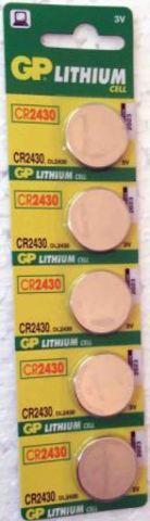 Элемент питания GP CR2430 к-т5шт 1/20