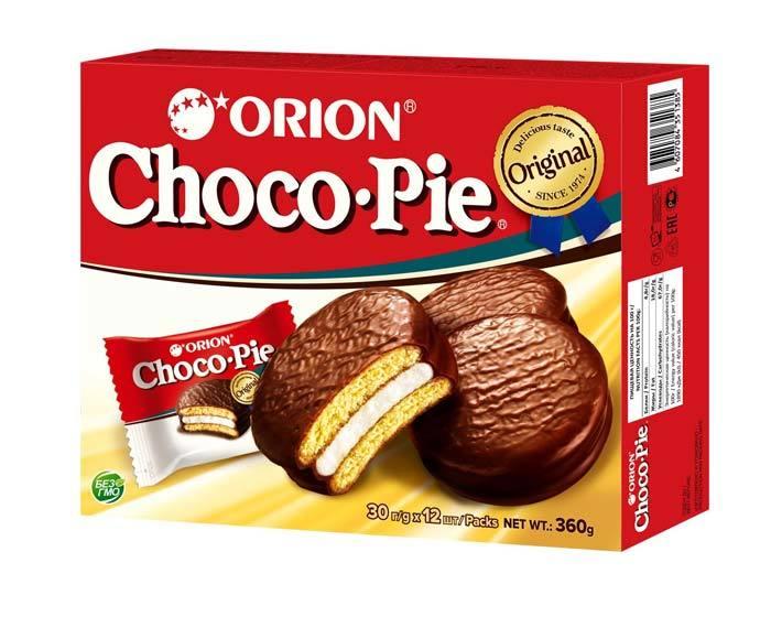 Печенье Orion Choco Pie, 360 г
