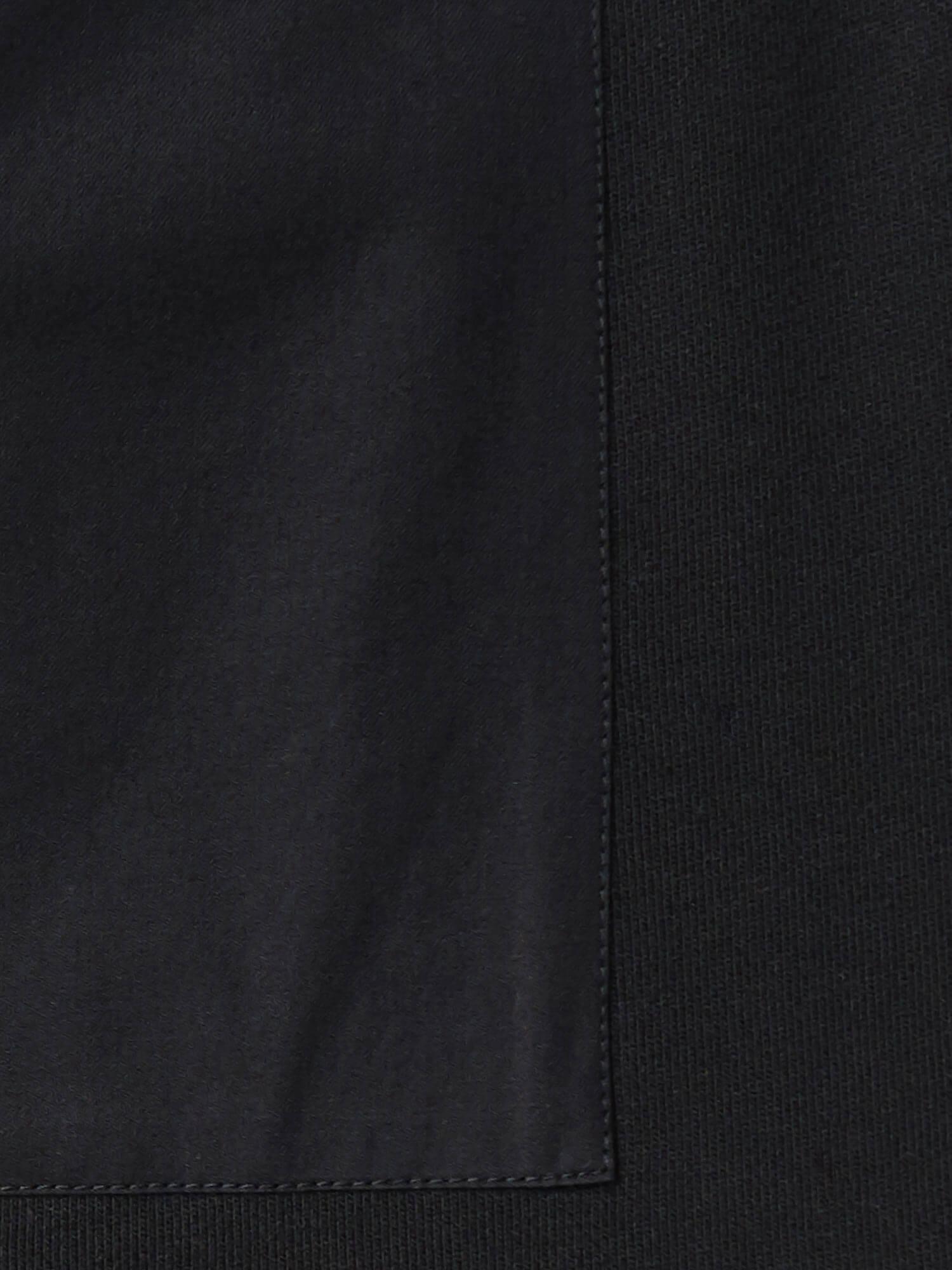 Свитшот Кембридж с захлёстом сзади, Черный