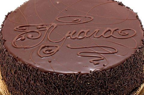 Безглютеновый торт. Классический вариант торта Прага с глазурью
