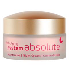 Ночной крем System Absolute, Annemarie Borlind
