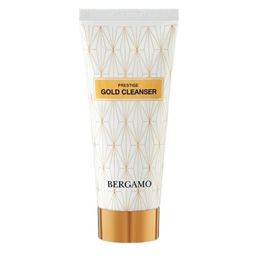 Пенка очищающая для лица с золотом Bergamo Prestige Gold Cleanser 120мл