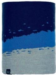 Вязаный шарф-труба Buff Neckwarmer Knitted Tove Night Blue