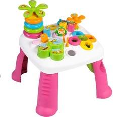 Smoby Развивающий игровой стол Cotoons, розовый (211170)