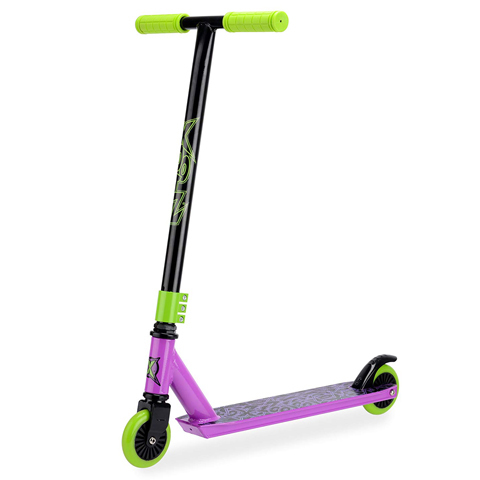 XOOTZ STUNT SCOOTER - TOXIC PURPLE