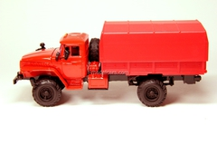 Ural-43206 with awning red Elecon 1:43