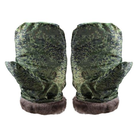 Утепленные рукавицы КАМУФЛЯЖ