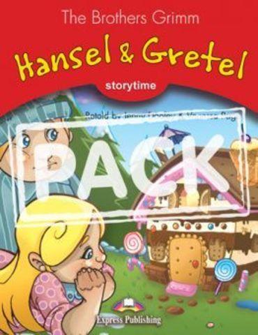 Hansel & Gretel. Книга для чтения. Stage 2 (2-3 классы) - комплект с диском