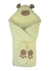 Набор на выписку из роддома зимний Little Bear лимонный