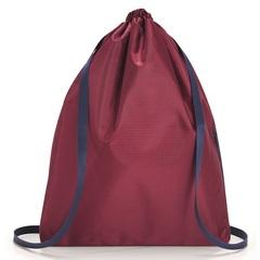 Рюкзак складной Mini maxi sacpack dark ruby Reisenthel