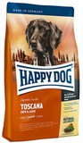 Happy Dog Supreme Sensible Toscana Сухой корм для собак со сниженным содержанием жира при аллергиях с Уткой и Лососем 12,5 кг. (03542)