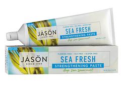 """Укрепляющая зубная паста без фтора """"Морская  свежесть"""", Jason"""