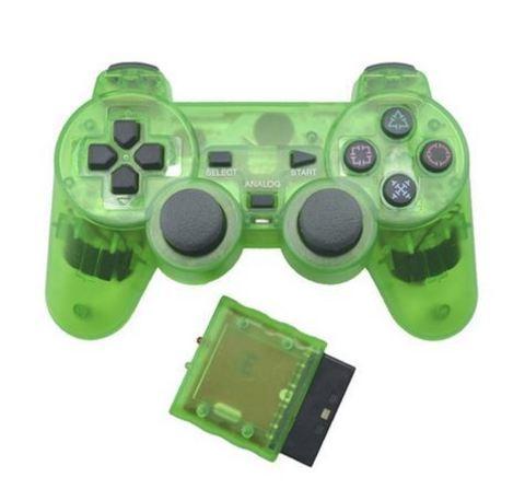 PS2 Контроллер игровой беспроводной (зеленый, копия)