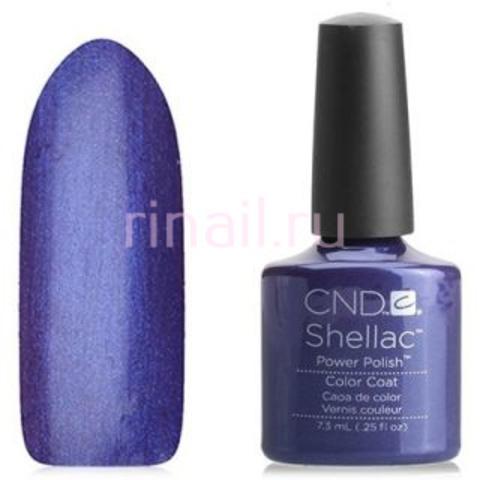 CND Шеллак 7,3 мл,Purple  пурпурный с фиолетовым микро блеском.