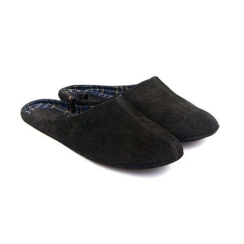777137 туфли домашние мужские черные. КупиРазмер — обувь больших размеров марки Делфино