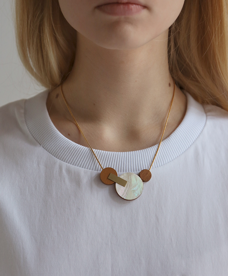Подвеска Celeste II Necklace Mother of Pearl