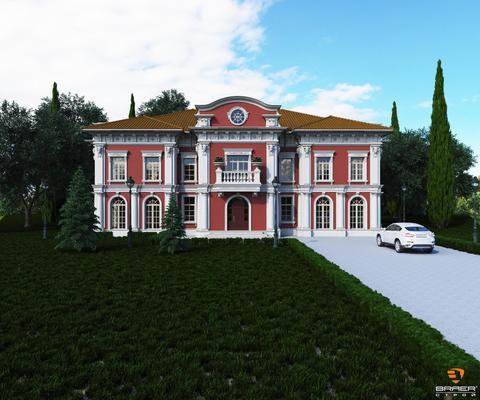 Строительство кирпичных зданий под ключ