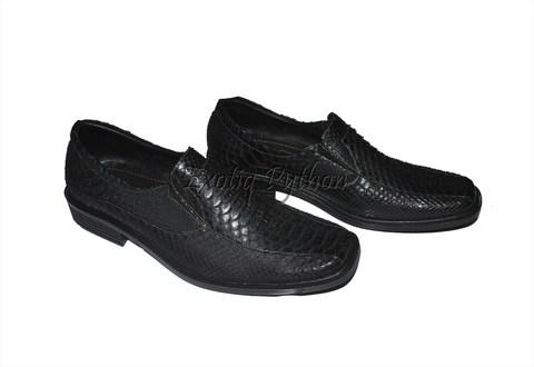 Ботинки из кожи питона SH-9