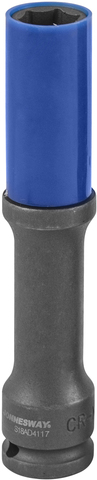 S18AD4117 Головка торцевая ударная тонкостенная глубокая для колесных дисков 17 мм