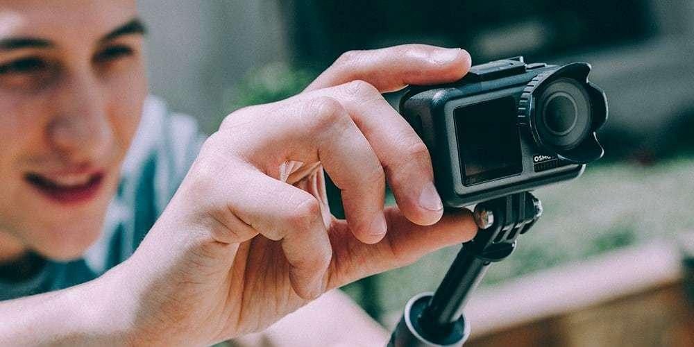 Бленда PGYTECH OSMO ACTION Lens Hood P-11B-016 съемка