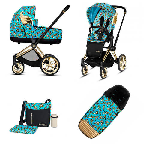 Набор Cybex Priam Lux III By Jeremy Scott Cherubs Blue