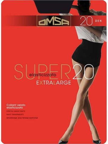 Колготки Super 20 XL Omsa