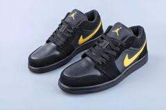 Air Jordan 1 Low 'Black/Gold'