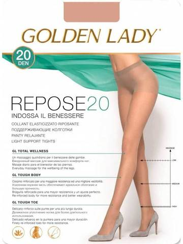 Колготки Repose 20 Golden Lady