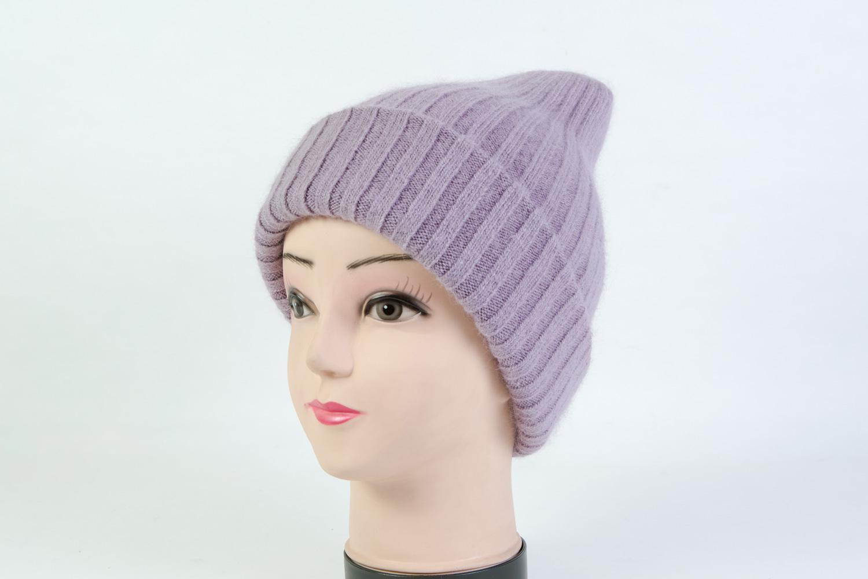 Женская шапка фиолетовая SH H9160A
