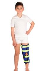 Детский бандаж для полной фиксации коленного сустава (тутор)