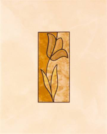 Декор Лира Керамика Гиацинт HY2B-011 20х25