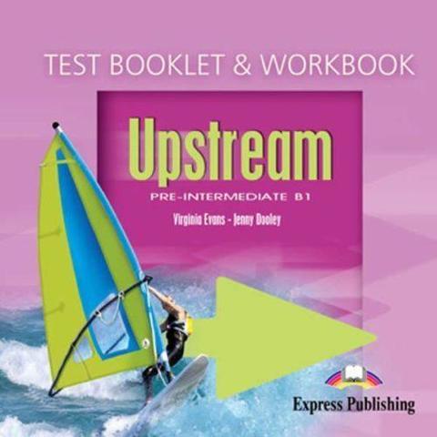 Upstream Pre-Intermediate B1. Test Booklet & Workbook Audio CD. Аудио CD к сборнику тестовых заданий и  рабочей тетради