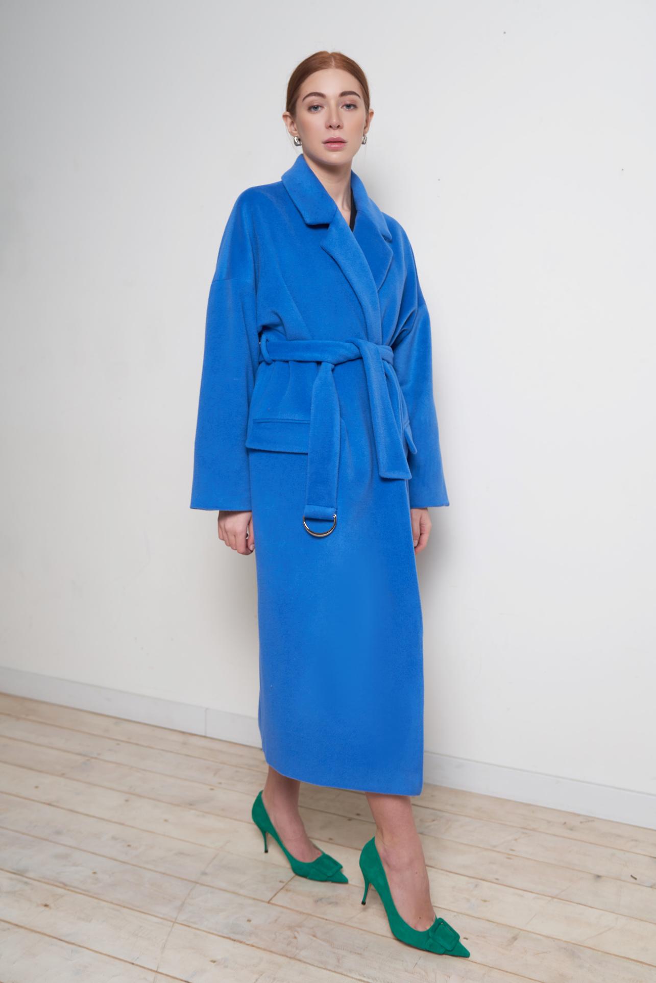 Пальто - халат «Blue sky»