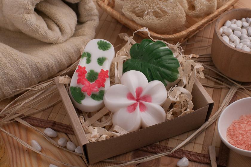 Мыло в гавайском стиле. Пластиковая форма Вьетнамка