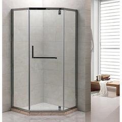 Душевое ограждение Grossman PR-100SD серебро, 100х100, с распашными дверьми, угловое