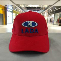 Кепка ЛАДА красная (Бейсболка LADA)