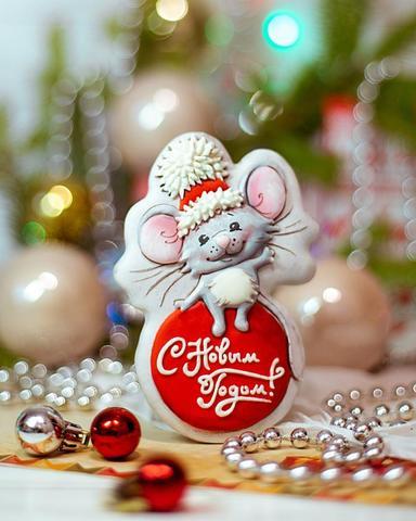 Мышка на шаре