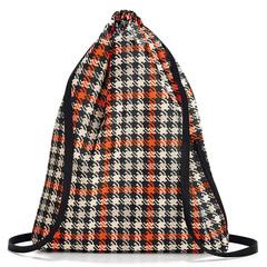 Рюкзак складной Mini maxi sacpack glencheck red Reisenthel