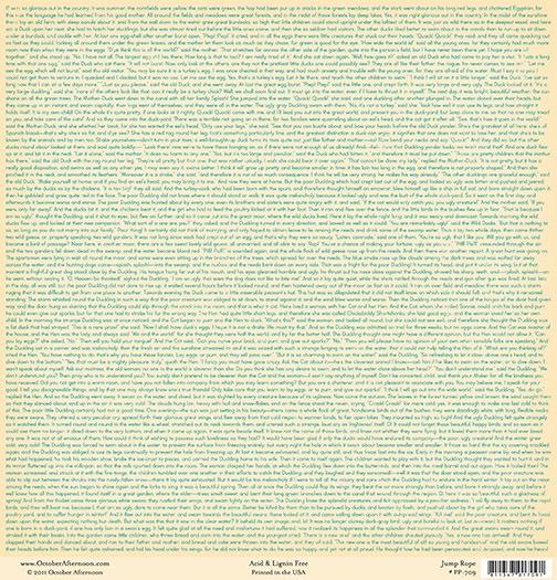 Лист двусторонней бумаги Jump Rose из коллекции