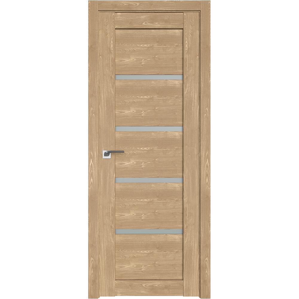 Двери в шоу-руме Межкомнатная дверь экошпон Profil Doors 2.09XN каштан натуральный стекло матовое 2.09XN_kashtan_naturalnyy_matovoe_dvertsov.jpg