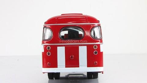 PAZ-672 Fire Engine Bus Classicbus 1:43