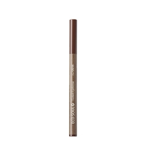 THE SAEM EYE Тинт-кисть для бровей 02 Eco Soul Tinted Eyebrow 02 Natural Brown 0,8мл