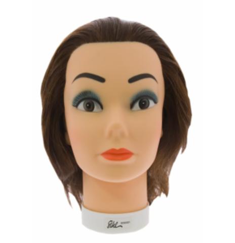 Голова учебная, длина волос 15/30 см
