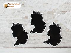 Планер Девушка с распущенными волосами № 3  (глянец)