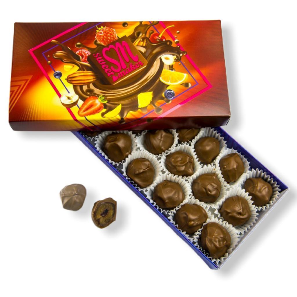 Черешня в молочном шоколаде, Sweetmaker 180 гр 18 штук